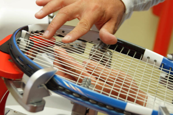 detail from restringing a tennis framealso look at my file #12466640